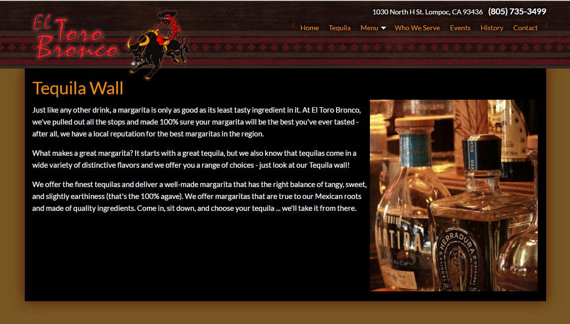 El Toro Bronco - Lompoc Mexican Restaurant