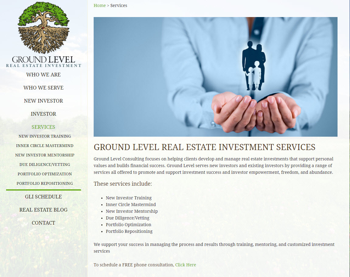 G.L. Investor Real Estate Investment Consultants