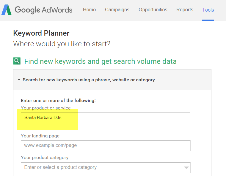 Google-Keyword-Planner-Search-Tool
