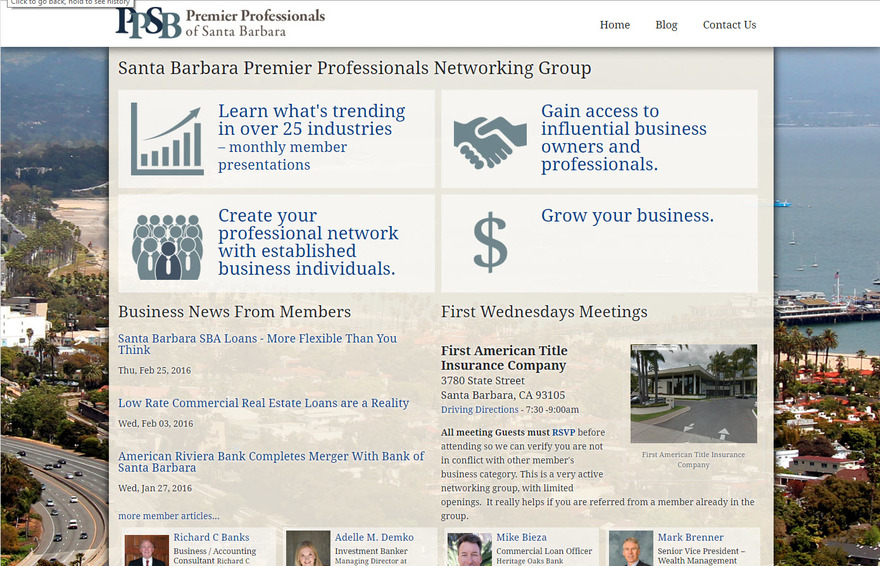 Premier Professionals of Santa Barbara