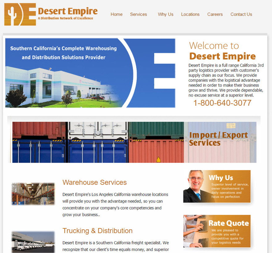 Desert Empire -Full range California 3rd party logistics