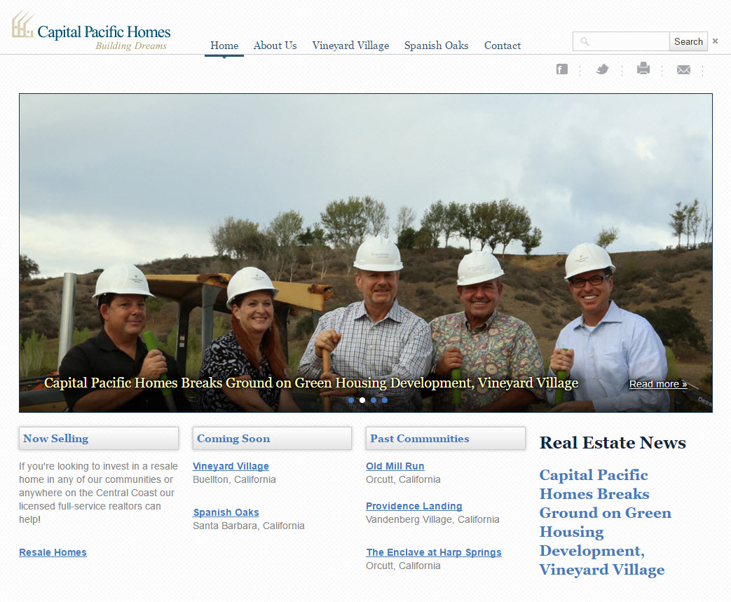 Capital Pacific Homes - California Central Coast Home Builders