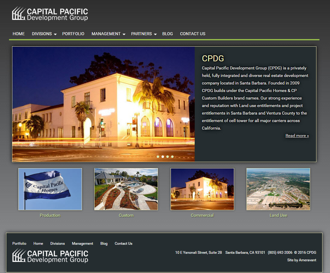Capital Pacific Development Group