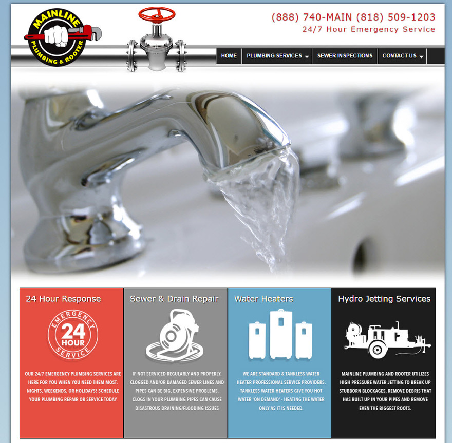 Mainline Plumbing and Rooter Contractors