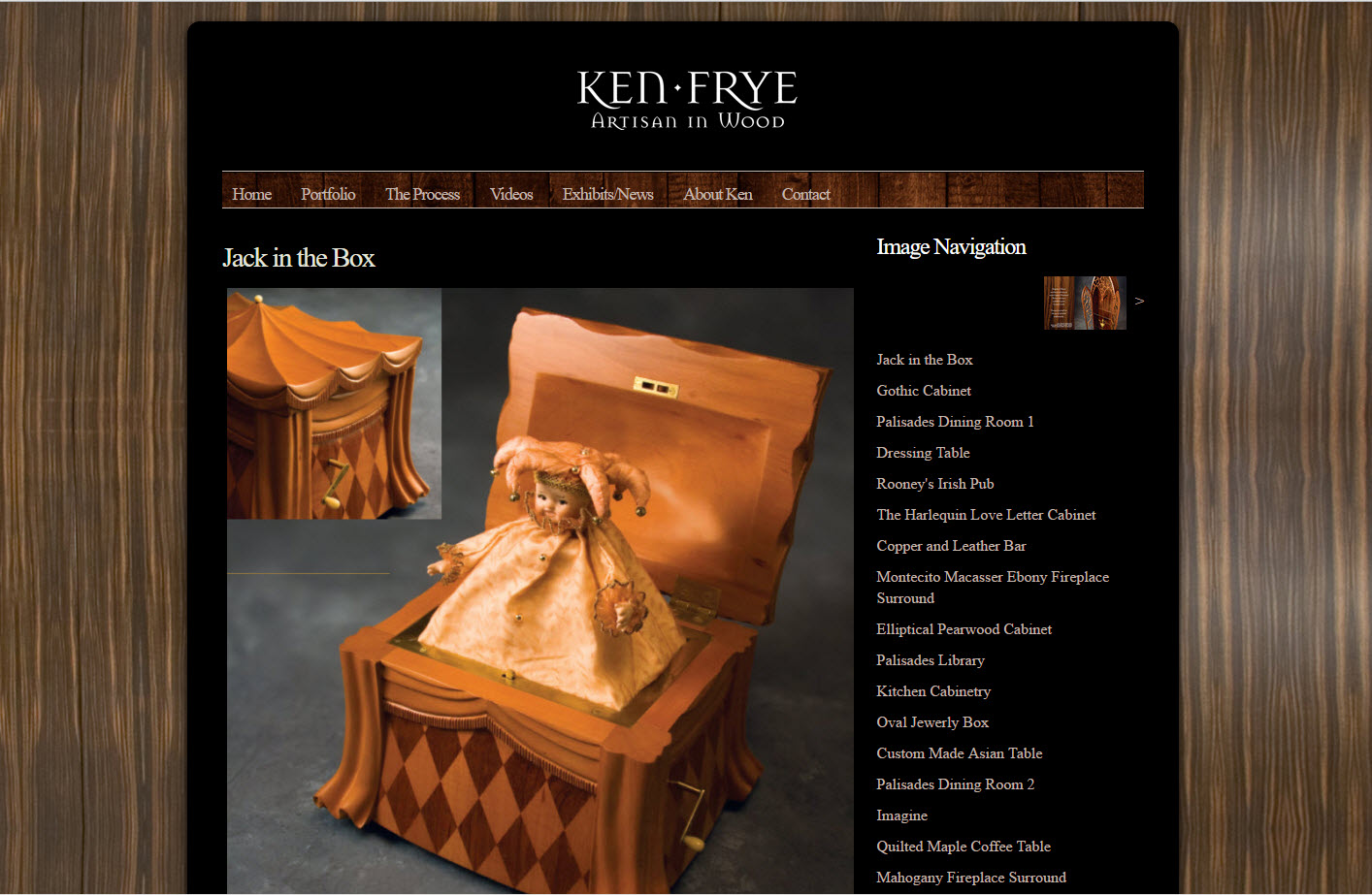 Custom Handcrafted Furniture - Ken Frye