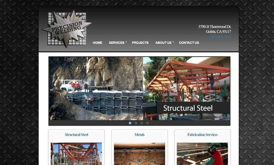 Structural Steel Fabrication and Erection - Precision Welding, Santa Barbara