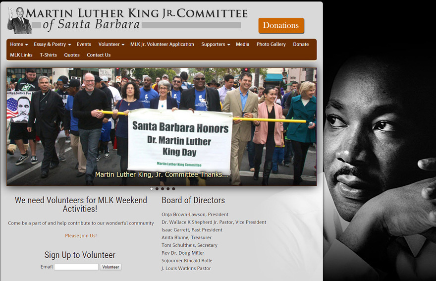 Martin Luther King Jr. Santa Barbara