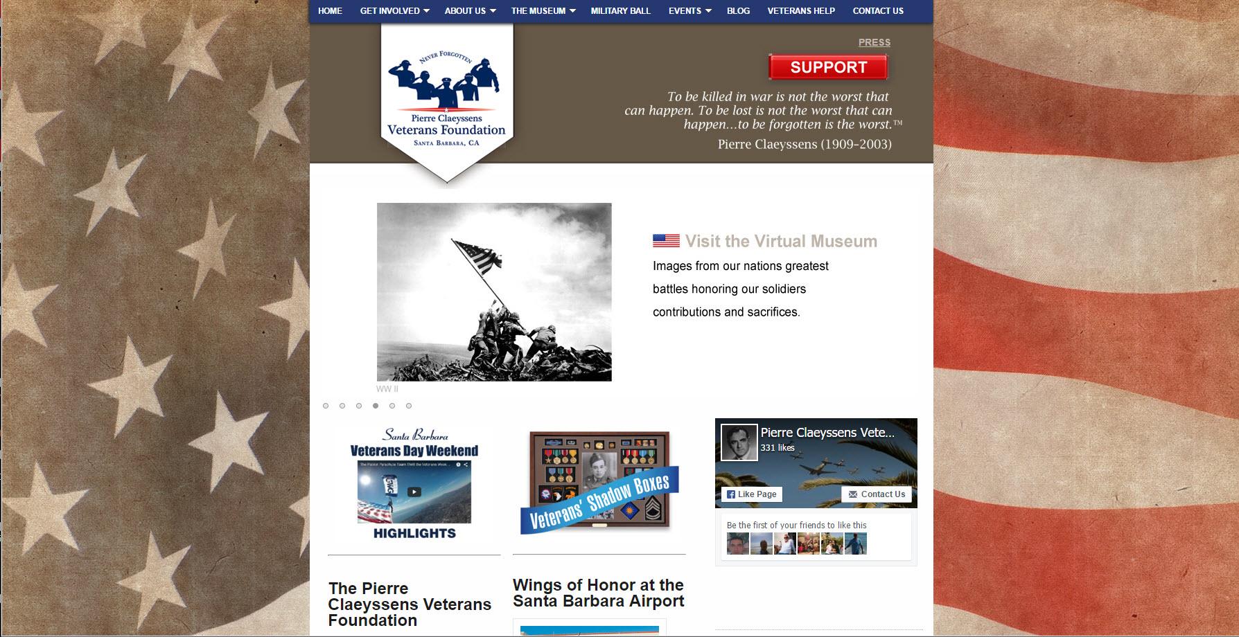 Santa Barbara Veterans Museum - Pierre Claeyssens Veterans Museum
