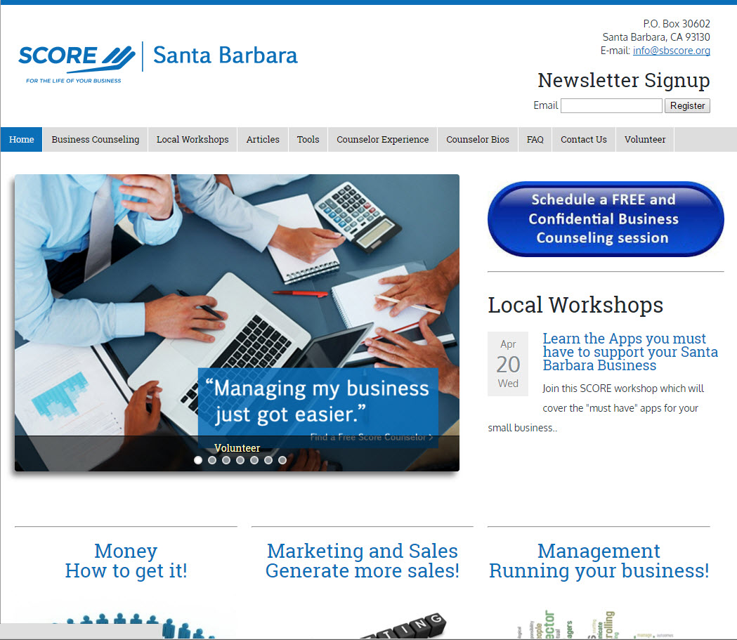SCORE-Santa Barbara