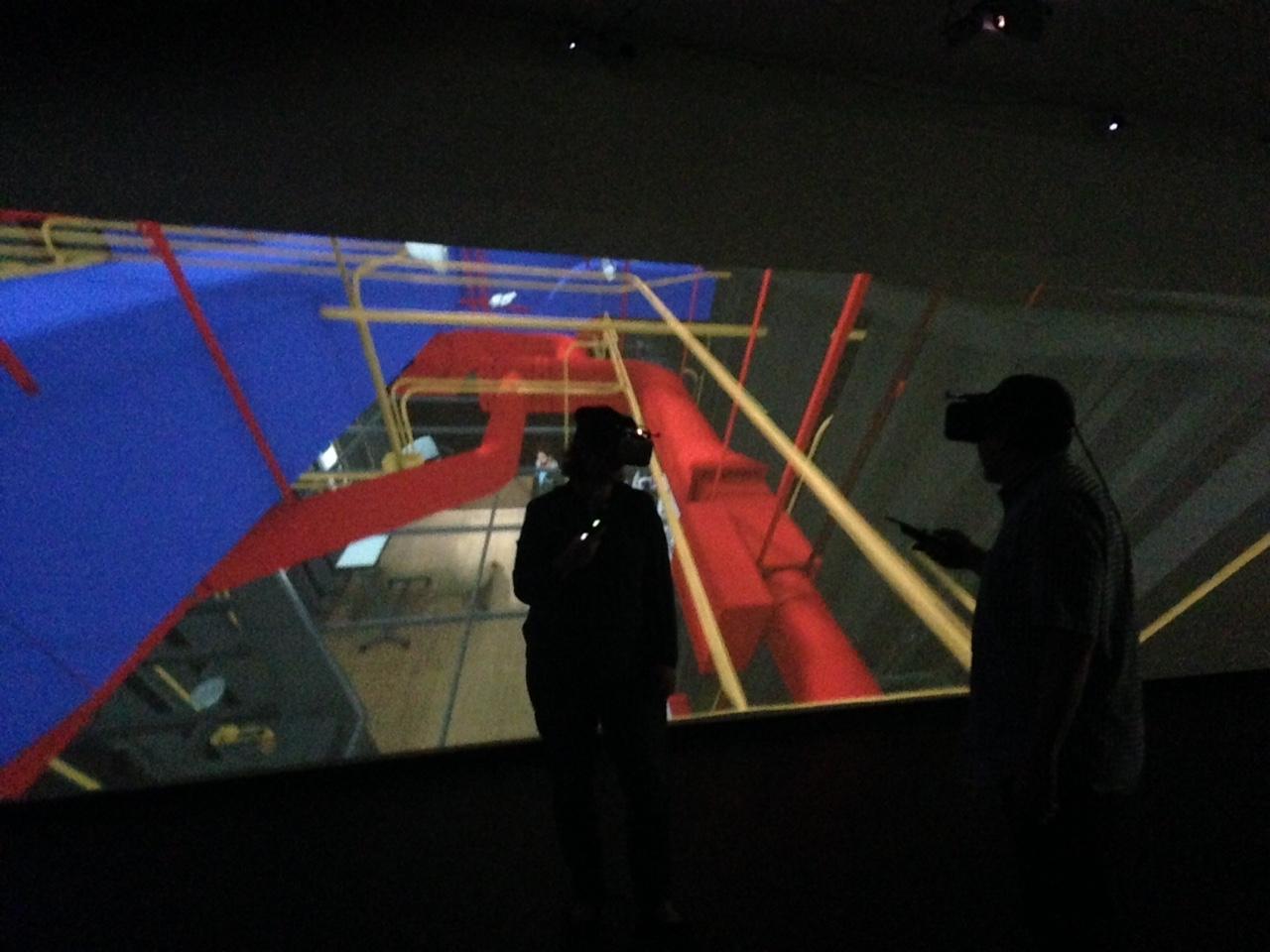 World Headquarter Tour - Viz-BIM and CAD plans to 3D models-5