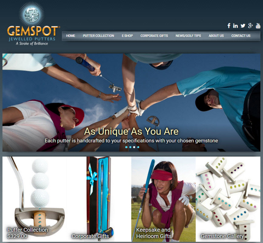 Gemspot Putters