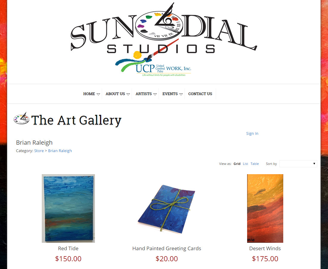 Sundial Studios - Ecommerce Shopping Cart