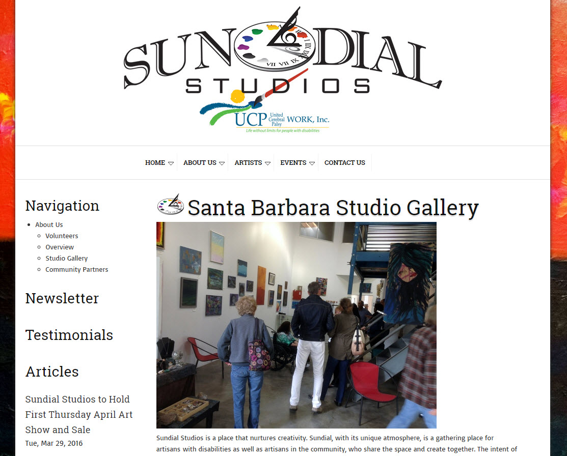 Sundial Studios - The Gallery