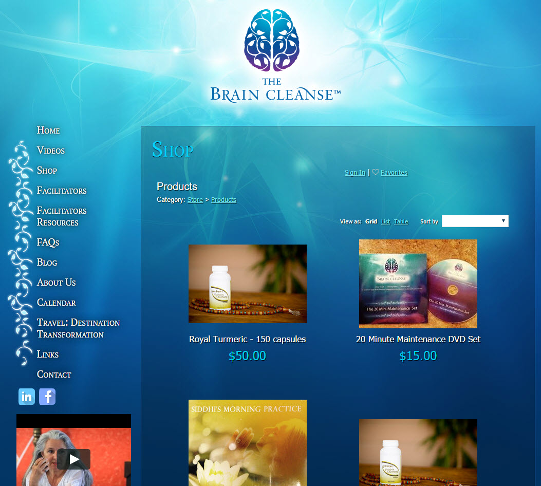 The Brain Cleanse� - Shopping Cart