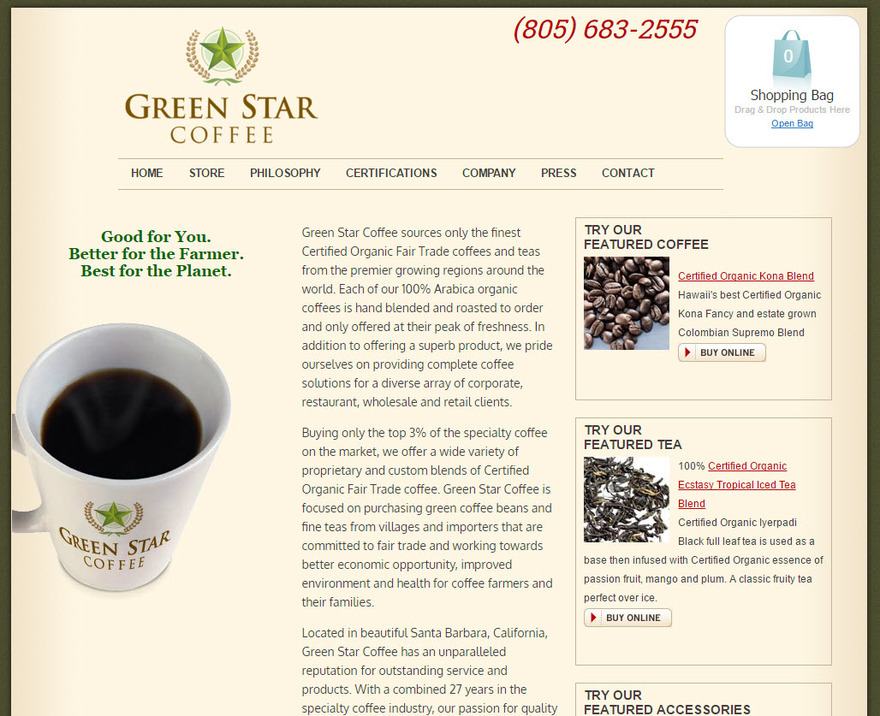 Green Star Coffee