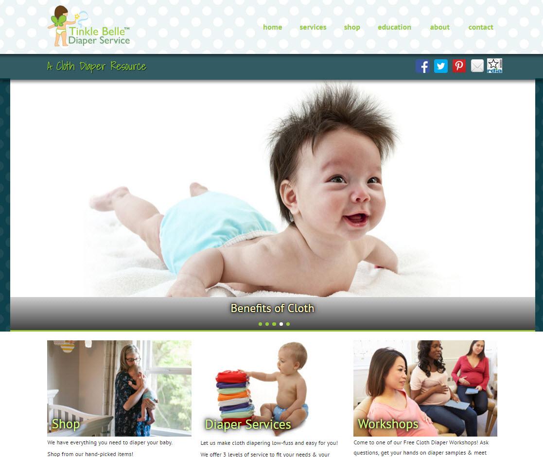 Santa Barbara Tinkle Belle Diaper Service