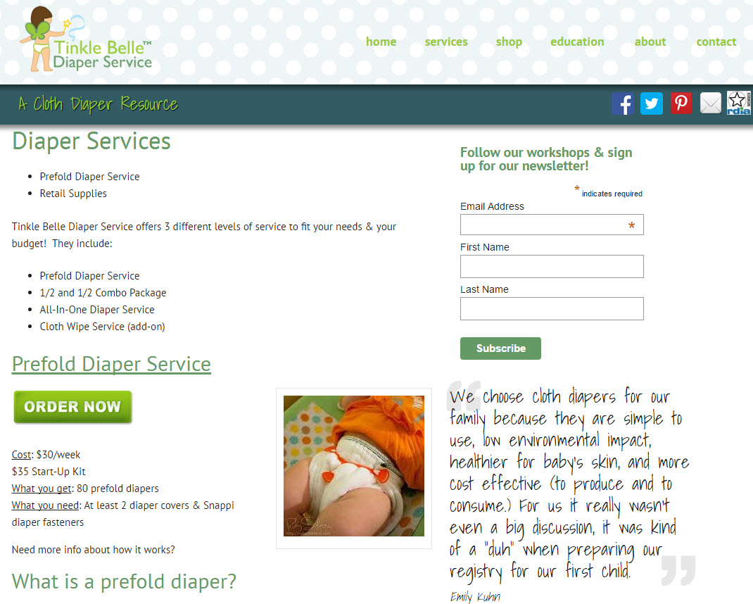 Santa Barbara Diaper Services