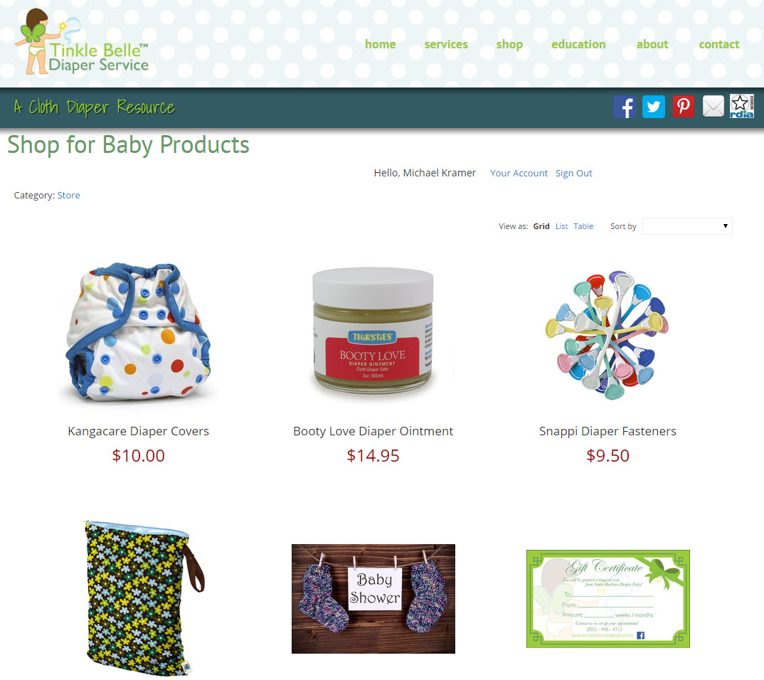 Santa Barbara Diaper Products