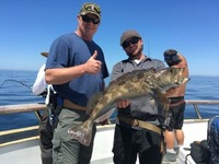 Lingcod Bite on the Coral Sea!-14