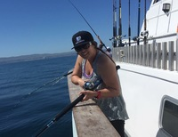 Lingcod Bite on the Coral Sea!-19