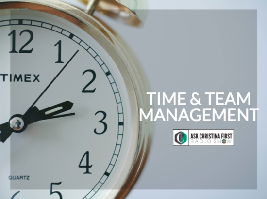Time and Team Management