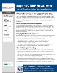 100 Sage Newsletter - June 2015