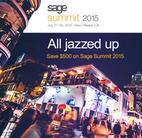 Sage Summit 2015