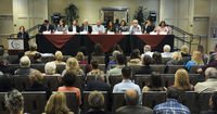 SB COUNTY FORUM HELD IN SOLVANG  Candidates go toe-to-toe in heated debate