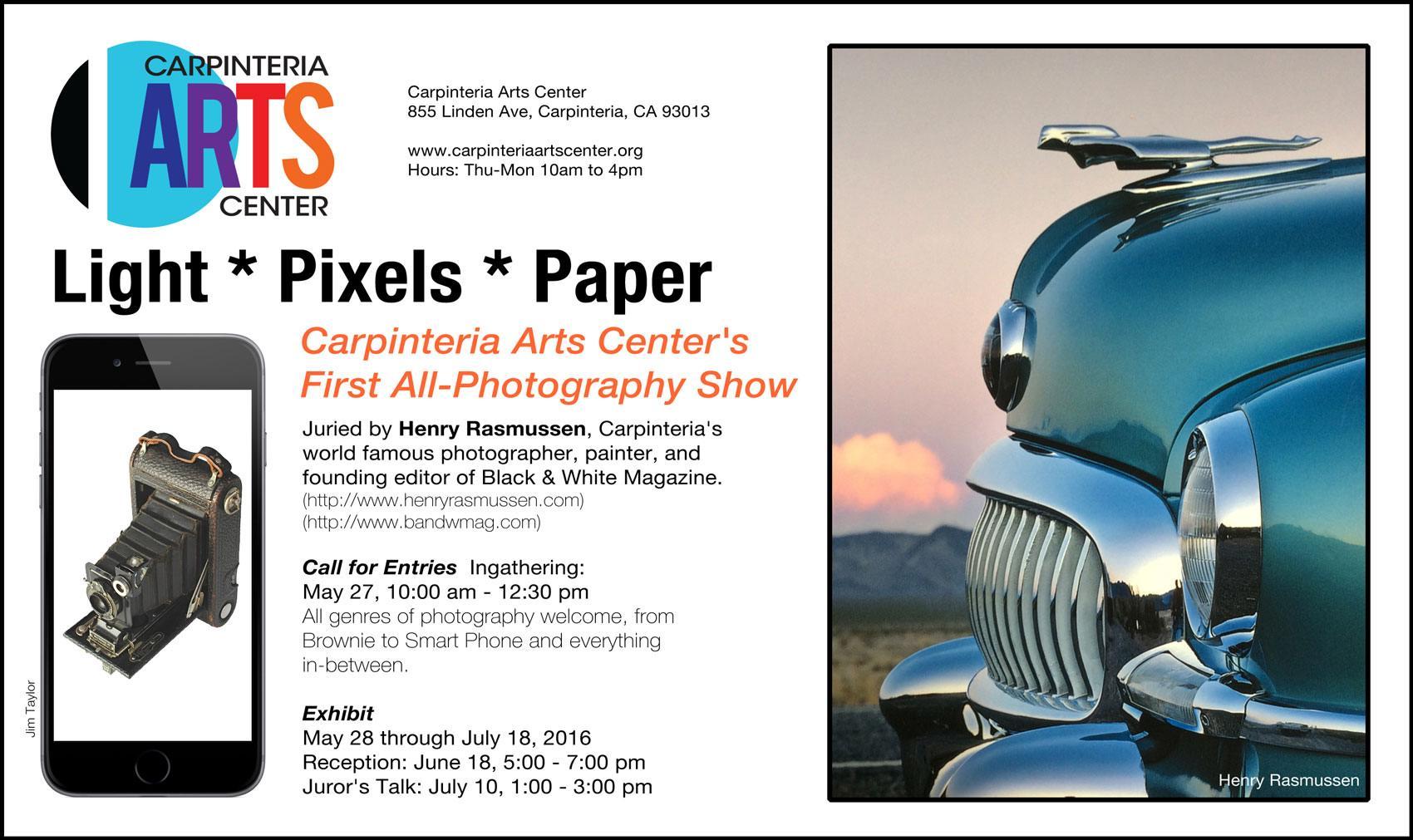Light. Pixels. Paper - Photographic Exhibit Ingathering
