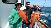 Shallow water fishing at Santa Rosa Island -2