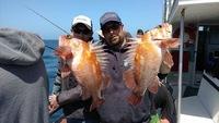 Shallow water fishing at Santa Rosa Island -3
