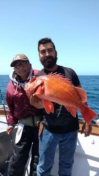 Shallow water fishing at Santa Rosa Island -9