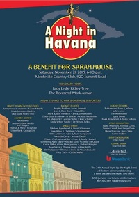A Night in Havana Sponsors