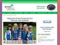 Costa de Oro Service Unit serves all Girl Scout troops from Carpinteria to Goleta