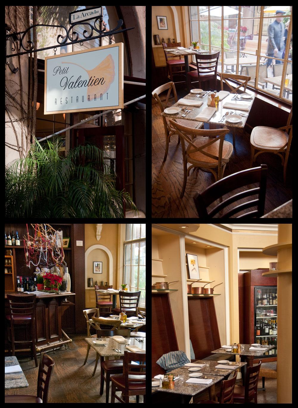 Petit Valentien Restaurant Santa Barbara