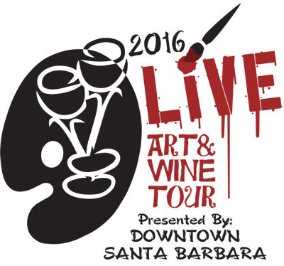 Live Art and Wine Tour May 26, 2016