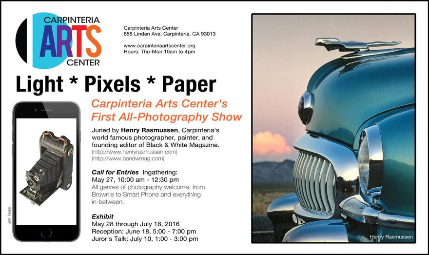 Carpinteria Arts Center's First All-Photography Show