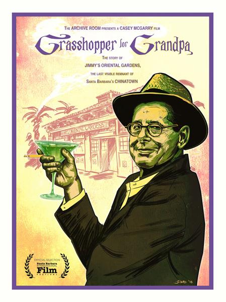 Art in Film Series - Grasshopper for Grandpa