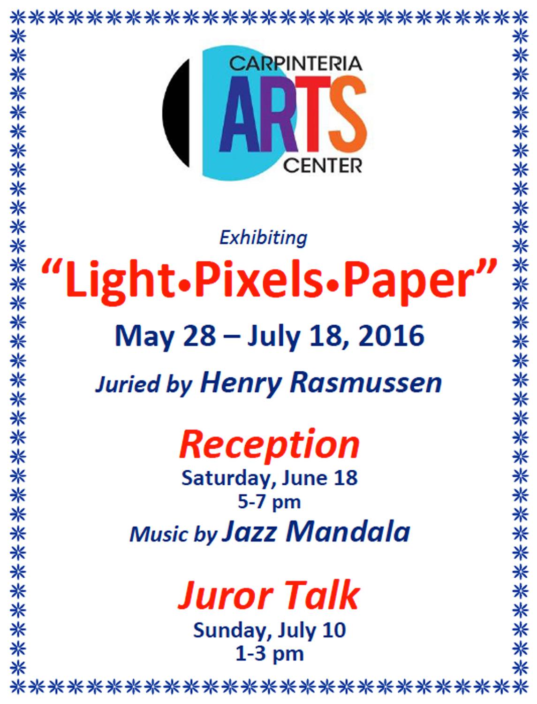 """Lights - Pixels - Paper"""