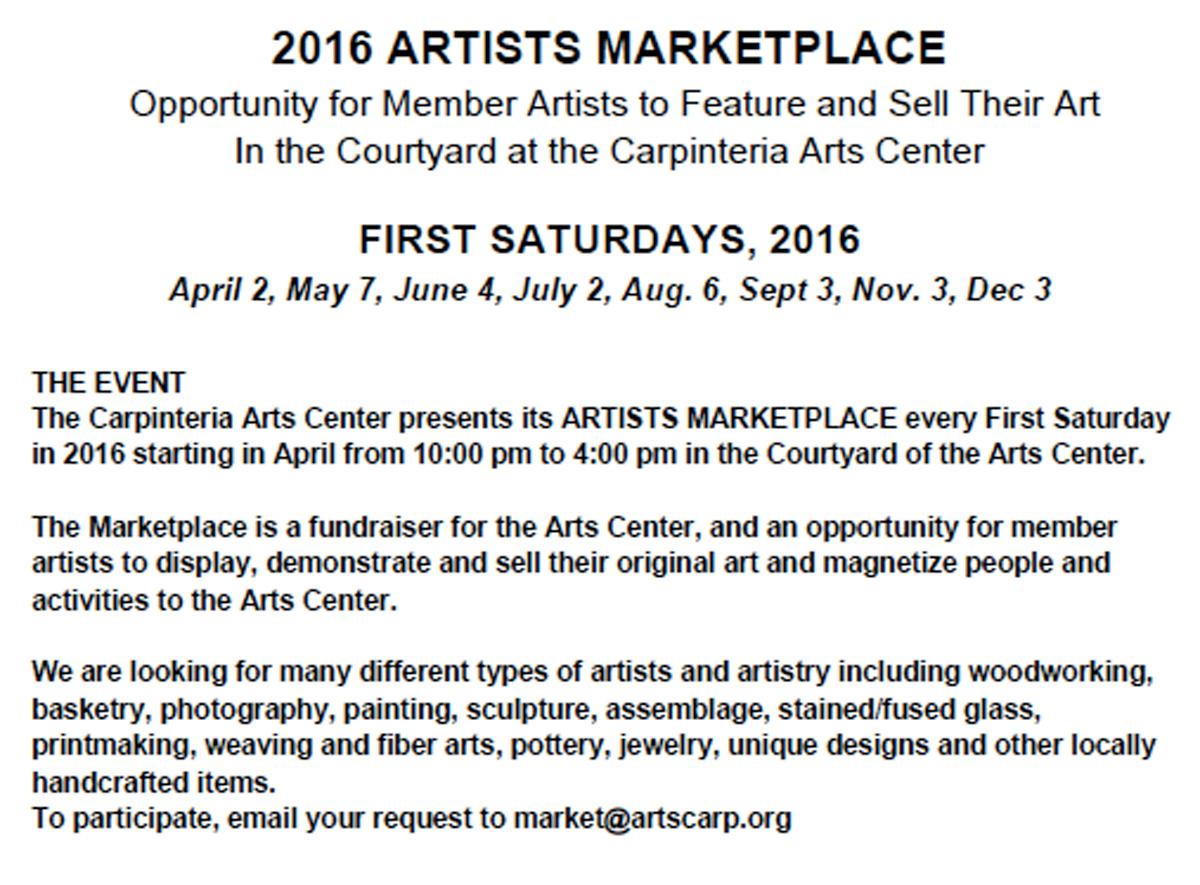 The Carpinteria Artist's Marketplace