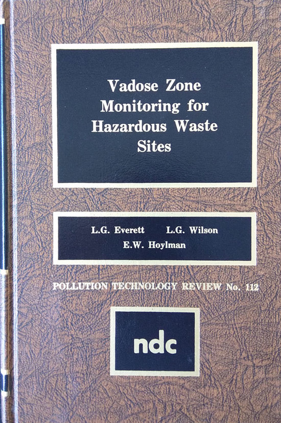 LGE 1984 Vadose Zone Monitoring Hazardous Waste Sites