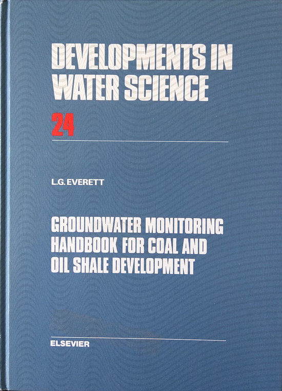 LGE 1985 GW Monitoring Handbook Coal Oil Shale Development
