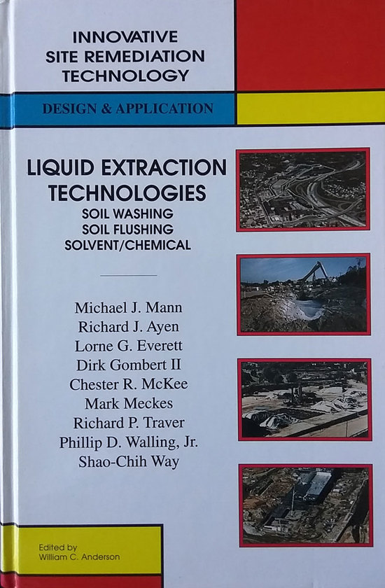 LGE 1998 Liquid Extraction Tech Soil Washing Flushing Solvent Chemical