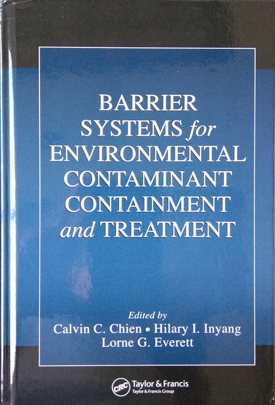 LGE 2006 Barrier Systems Environmental Contaminant Containment Treatment