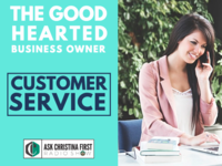 Good Hearted Business Owner & Customer Service