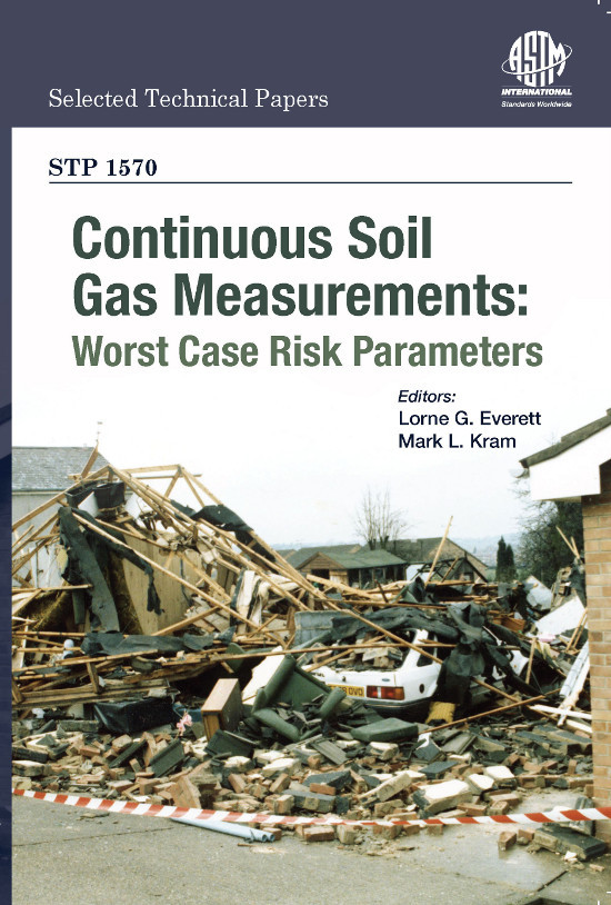 LGE 2013 Continuous Soil Gas Measurements: Worst Case Risk Parameters