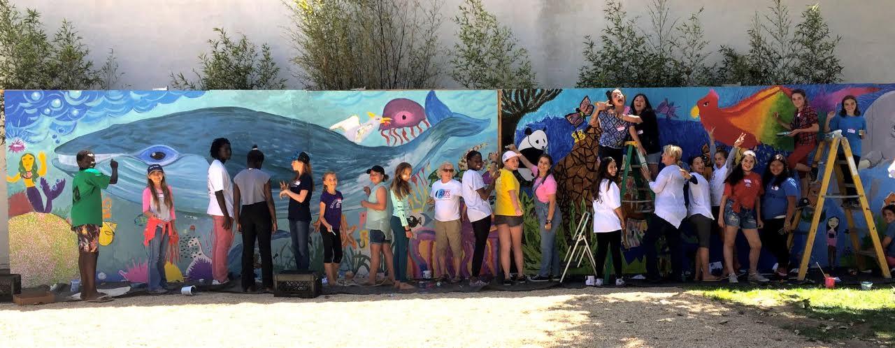 Teen Mural Project 2016