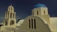 Greece: Santorini Churches and Mountain Tops