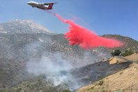 Fire Burns 2 Acres in Mission Canyon Above Santa Barbara