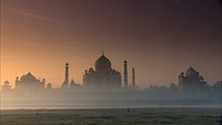 Taj Mahal Early Morning